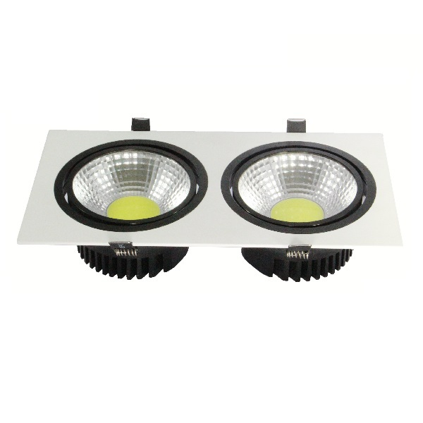 COB-Downlight-TWIN-weiß