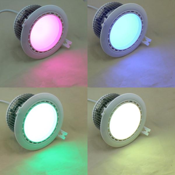 SMD-Downlight-RGB-weiß