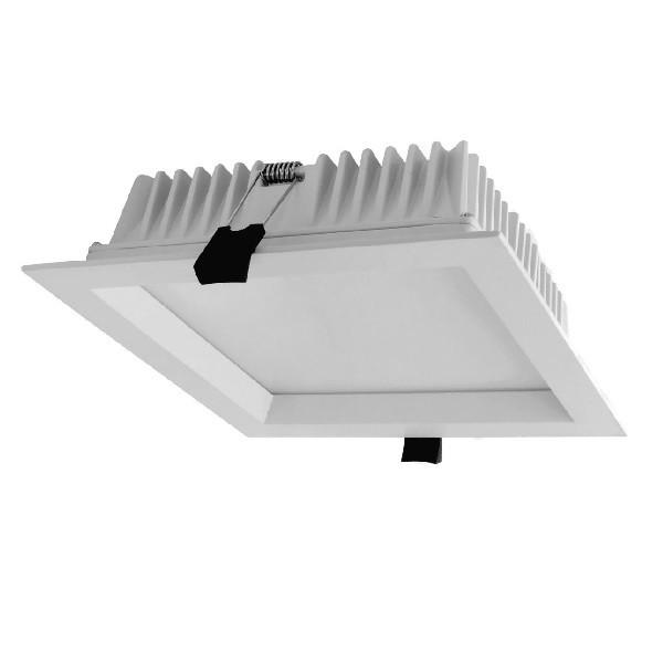 SMD-Downlight-quadratisch-weiß