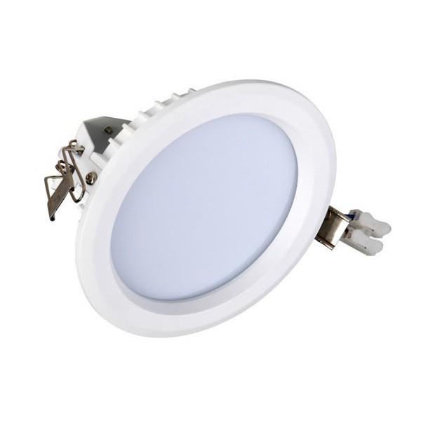 SMD-Downlight-rund-weiß