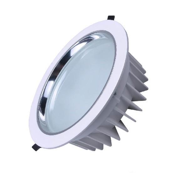 SMD-Downlight-rund-weiß-silber