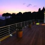 LED-Bodeneinbaustrahler-Terrasse