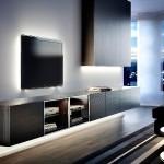 LED-FELX indirekte Beleuchtung Wohnwand