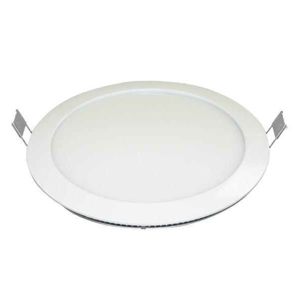 LED-Panel rund weiß